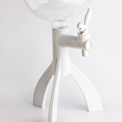 Thirsty squirrel (White) by QUALY-living with styles