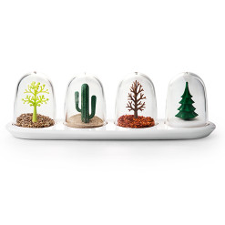 Four seasons spice shakers by QUALY living with styles
