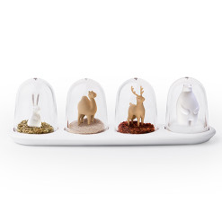 Animal parade spice shakers by QUALY living with styles