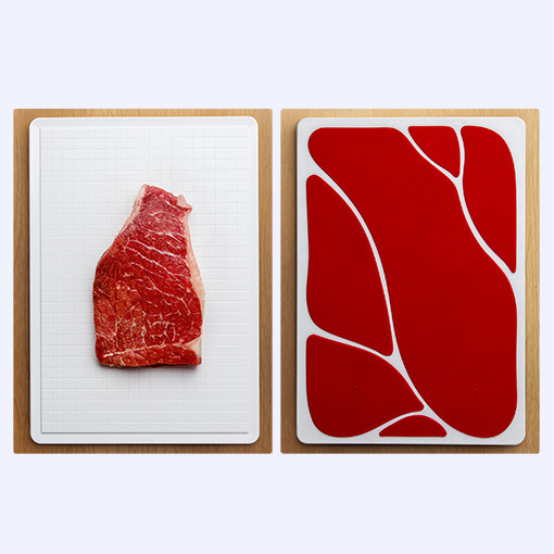 Meat slice cutting board by QUALY-living with styles