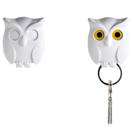 Night owl key holder close vs open