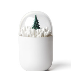QL10221-GN Winter Time (cotton bud holder) 01
