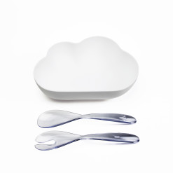 5.QL10265-WH CLOUD SALAD BOWL DIECUT
